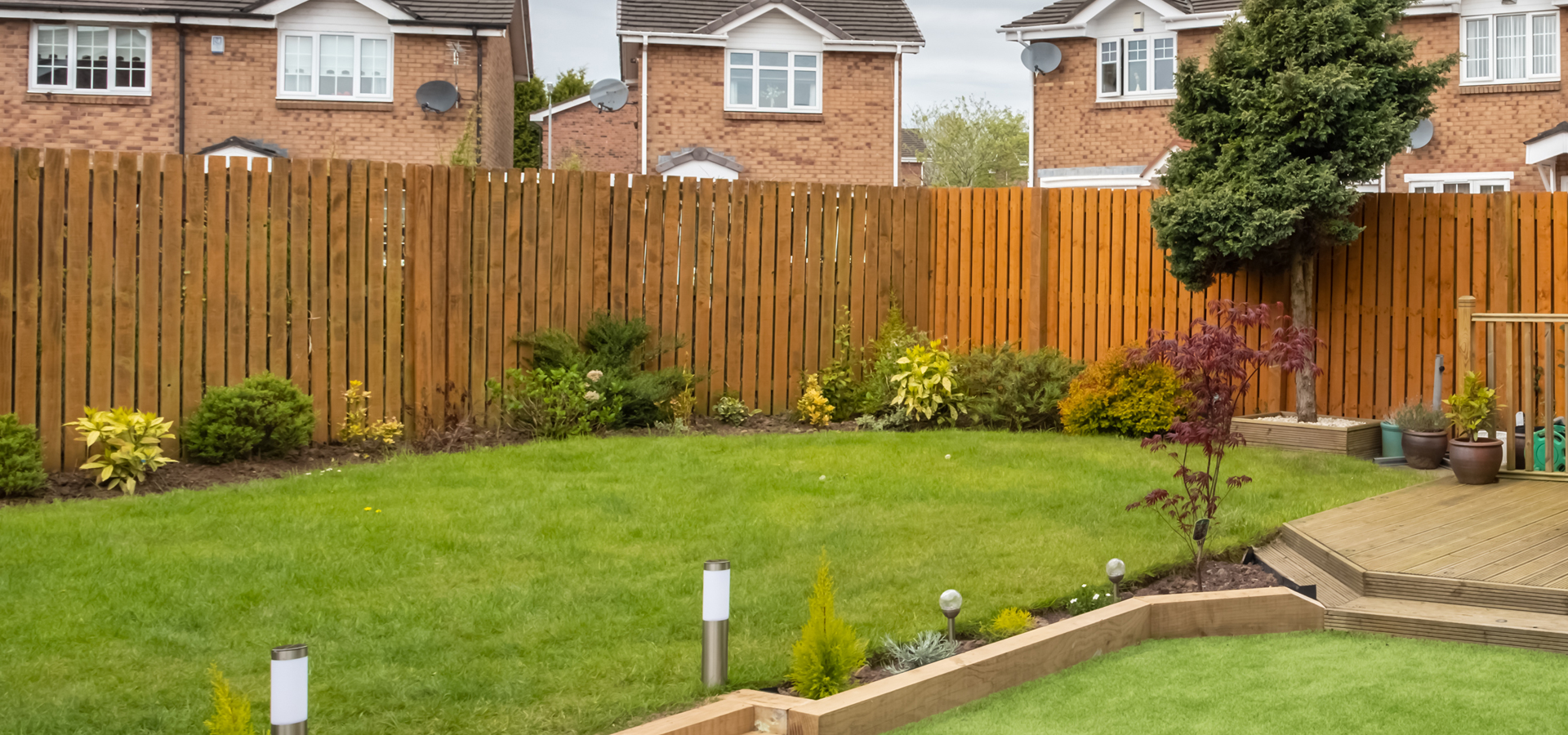 fencing and Decking great North Landscaping